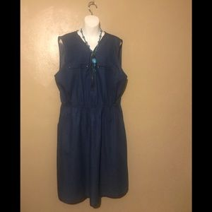 Speed Control NY denim dress size 2X